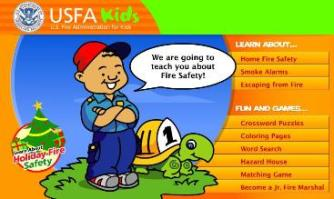Visit USFA Kids website