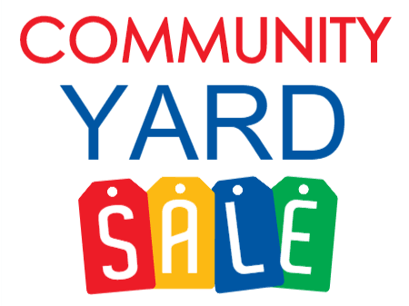 CommunityYardSaleColorful