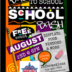 Back to School Bash Flyer 2019