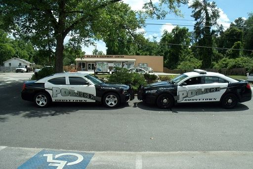 Grovetown Police Cars